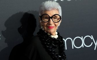 NEW YORK, NY - SEPTEMBER 07:  Fashion icon Iris Apfel attends Macy's Fashion's Front Row during September 2016 New York Fashion Week at The Theater at Madison Square Garden on September 7, 2016 in New York City.  (Photo by Mike Pont/WireImage)