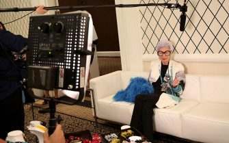 NEW YORK, NY - SEPTEMBER 08:  Iris Apfel attends the HSN Fall Fashion Lounge at the Empire Hotel on September 8, 2014 in New York City.  (Photo by Monica Schipper/Getty Images for HSN)