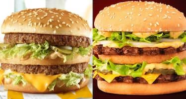 A sinistra, Big Mac; a destra, Big Jack