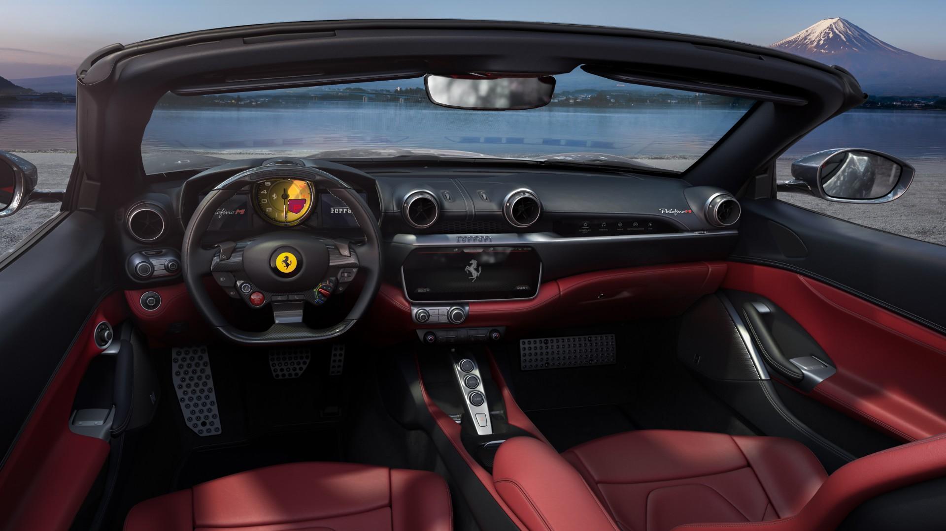 Ferrari Portofino M interno