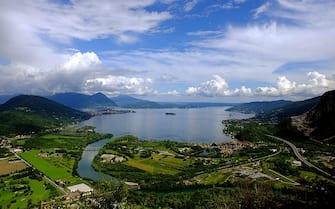 veduta del Lago maggiore