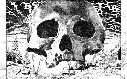 L'arte di Dracula di George Bess: le tavole del fumetto