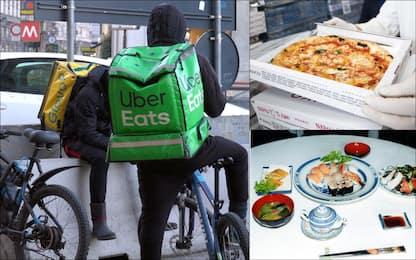 Pizza, cinese e sushi: ecco i cibi più cercati al mondo per l'asporto