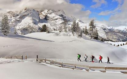 Ciaspolare sulle Alpi, i 20 itinerari più suggestivi. FOTO