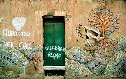Roma a colori, la street art del Quadraro e di Torpignattara. FOTO