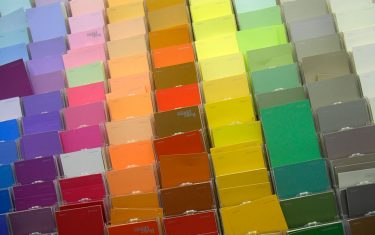 Paint color charts in Walmart. (Photo by: Jeffrey Greenberg/Universal Images Group via Getty Images)