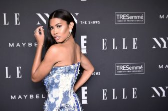 US transgender model Leyna Bloom attends the NYFW Kick-Off Party hosted by E! Entertainment, ELLE & IMG at The Pool, The Seagram Building on September 5, 2018 New York City. (Photo by Steven FERDMAN / AFP)        (Photo credit should read STEVEN FERDMAN/AFP via Getty Images)