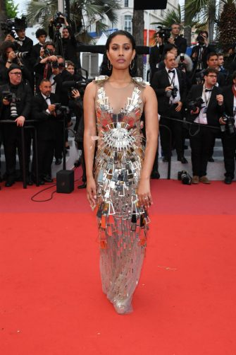 """CANNES, FRANCE - MAY 18: Leyna Bloom attends the screening of """"Les Plus Belles Annees D'Une Vie"""" during the 72nd annual Cannes Film Festival on May 18, 2019 in Cannes, France. (Photo by Daniele Venturelli/WireImage)"""