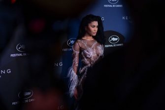CANNES, FRANCE - MAY 19: Leyna Bloom attends the Kering and Cannes Film Festival Official Dinner at Place de la Castre on May 19, 2019 in Cannes, France. (Photo by Anthony Ghnassia/Getty Images for Kering)
