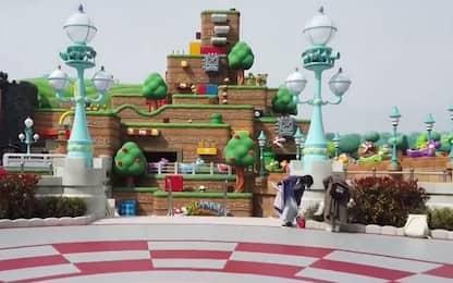 Giappone, apre il parco Super Nintendo World. VIDEO