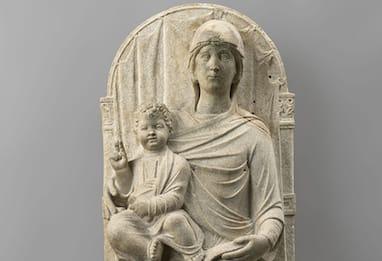 Dal Louvre torna a Ravenna la Madonna in Trono con Bambino
