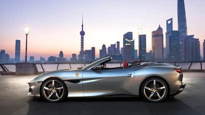 Nuova Ferrari Portofino M, la spider Gt della Casa di Maranello