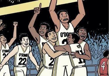 Dragon Hoops, il fumetto sul basket di Gene Luen Yang