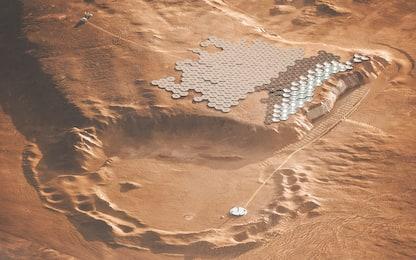 Nüwa City, che aspetto avrà la capitale di Marte. FOTO