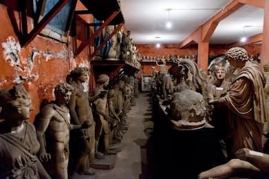 La collezione di marmi fantasma dei Principi Torlonia