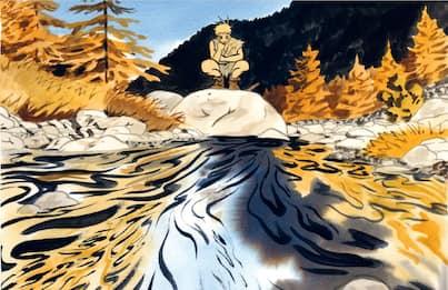 Penss, il fumetto di Jérémie Moreau sul rapporto tra uomo e natura