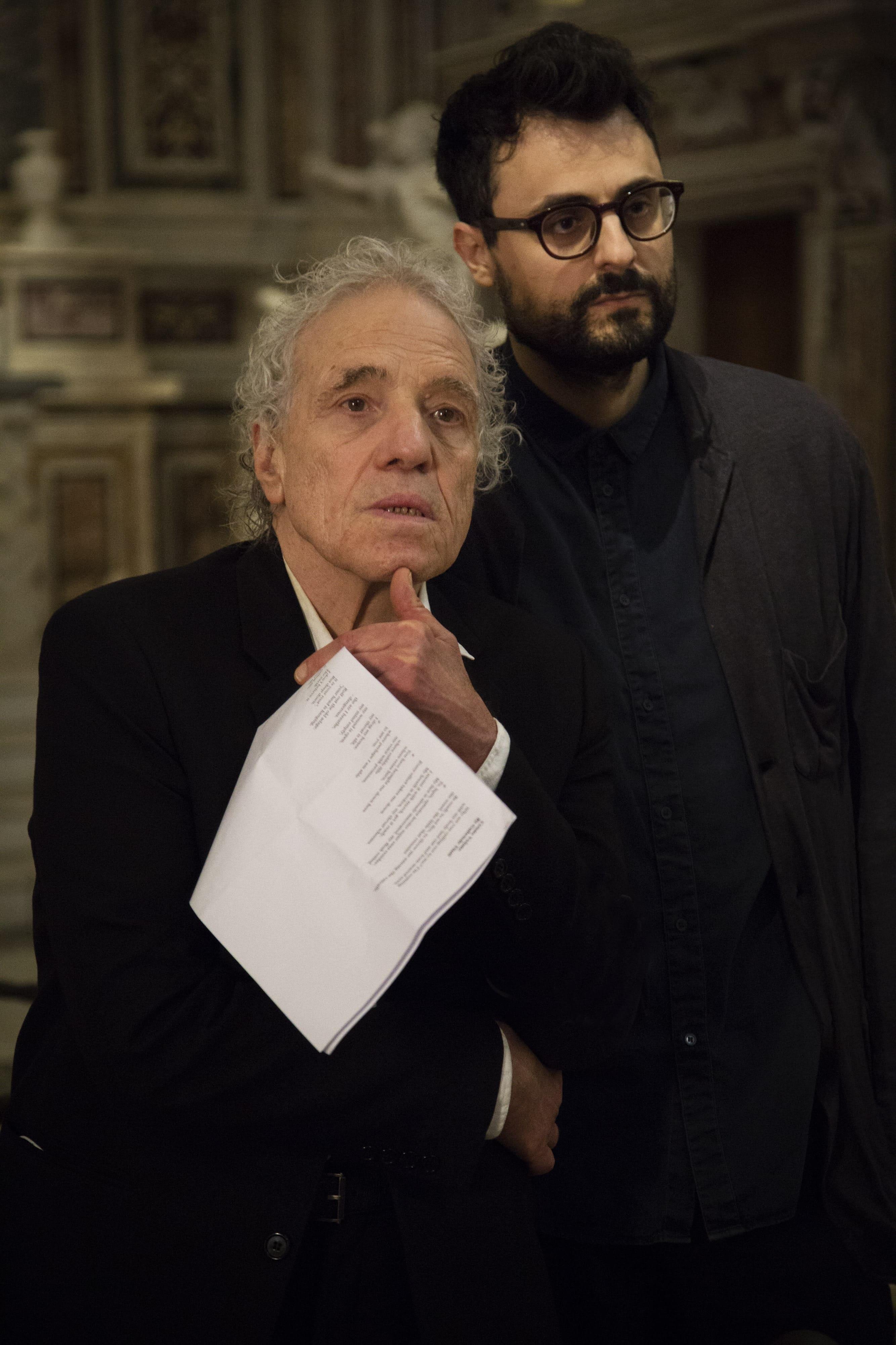 Abel Ferrara recita Gabriele Pinti