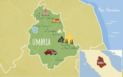 Umbria 'on the road' tra spa-relais, abbazie e alberghi diffusi. FOTO