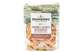 Una confezione di pasta di Sgambaro