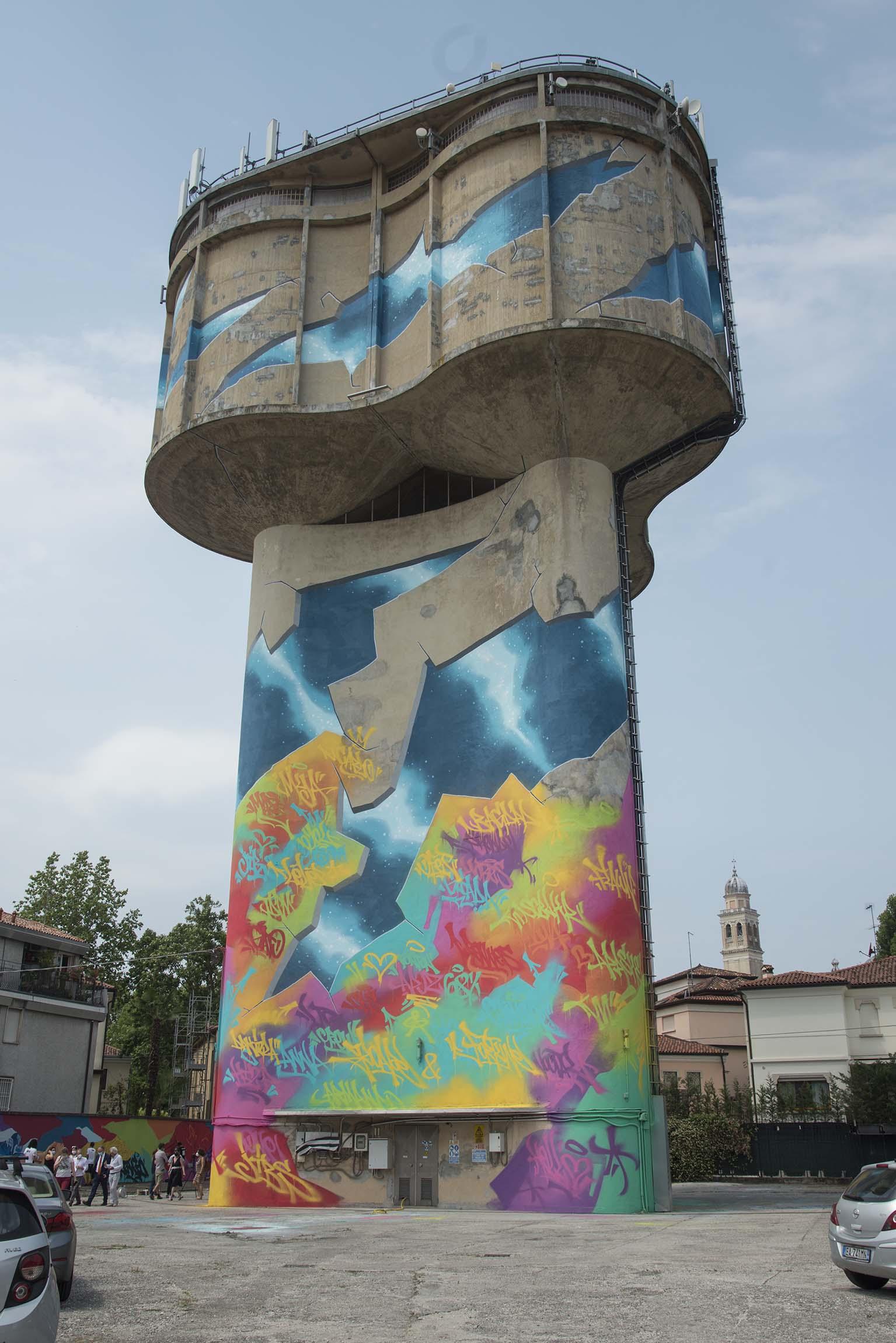 La Cremerie, il murales più grande d'Italia