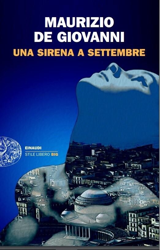 La copertina del nuovo romanzo di Maurizio de Giovanni