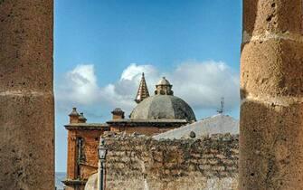 Uno scorcio di Sambuca di Sicilia, in provincia di Agrigento