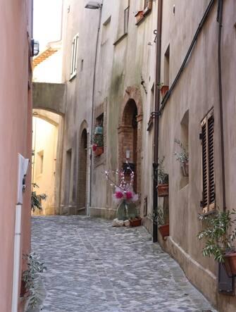 Uno scorcio del borgo di Pale, frazione del comune di Foligno in Umbria
