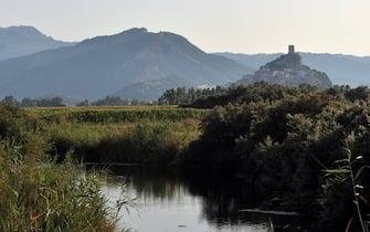 Una veduta del borgo di Posada, in Sardegna