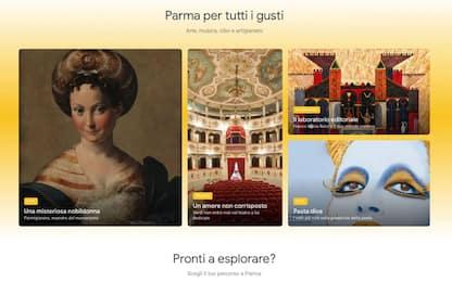 Parma capitale della Cultura è anche su Google Arts & Culture