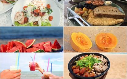 """Cosa si mangia in spiaggia, la classifica dei cibi più """"instagrammati"""""""