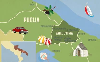 Puglia 'on the road', i 20 trulli più suggestivi della Valle d'Itria