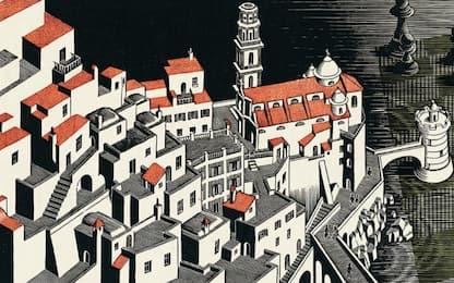 Genova, a Palazzo Ducale in mostra i mondi di Escher. FOTO
