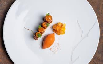 piatto del'osteria baumaniere
