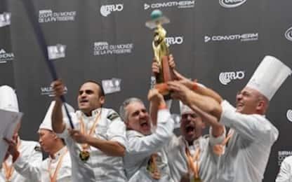 L'Italia vince la Coppa del mondo di pasticceria di Lione