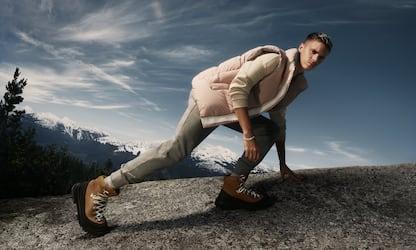 Canada Goose, Romeo Beckham nella nuova campagna per il footwear