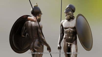 I Bronzi di Riace, ecco com'erano 2500 anni fa
