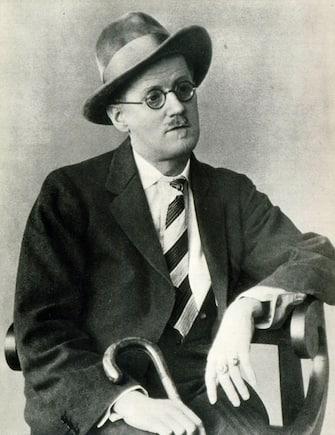 James Joyce portrait Irish writer ( Irish name  Séamus Seoighe) 2 February 1882  13 January 1941. Famous for his novel Ulysses  (Photo by Culture Club/Getty Images)