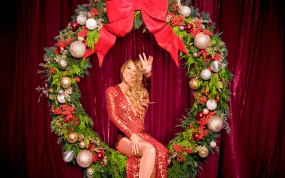 Mariah Carey, All I Want For Christmas Is You prima nel Regno Unito
