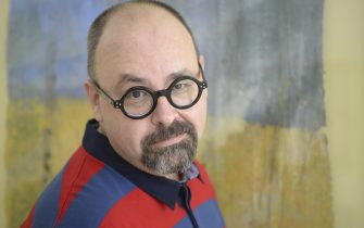 BARCELONA, SPAIN - JANUARY 30:  Carlos Ruiz Zafon, Spanish writer, poses during a portrait session held on January 30, 2013 in Barcelona, Spain. (Photo by Ulf Andersen/Getty Images)