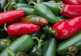 """Jalapenos are seen for sale at a local """"Farmer's Market"""" August 7, 2013, in Oakton, Virginia.      AFP Photo/Paul J. Richards        (Photo credit should read PAUL J. RICHARDS/AFP via Getty Images)"""