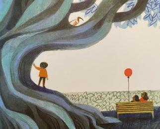Giochi con me? I libri per bambini sono come un albero...