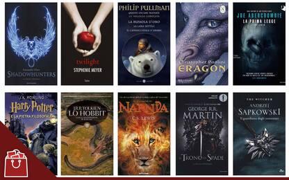 I migliori libri fantasy, da Harry Potter a Il Signore Degli Anelli