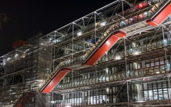 PARIS, FRANCE - DECEMBER 30: The Georges Pompidou Center on December 30, 2019 in Paris, France.The Pompidou Centre was designed in the style of high-tech architecture by Richard Rogers and Renzo Piano.It houses the Public Information Library, the Musée National d'Art Moderne, which is the largest museum for modern art in Europe. (Photo by Athanasios Gioumpasis/Getty Images)