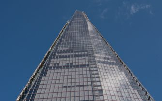 LONDON, ENGLAND - MARCH 19: A general view of the Shard, 32 London Bridge St, SE1 9SG designed by the Italian architect Renzo Piano on March 19, 2018 in London, England. (Photo by John Keeble/Getty Images)