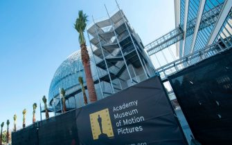 General view of the Academy Museum during the Academy Museum of Motion Pictures in Los Angeles, California on February 7, 2020. (Photo by VALERIE MACON / AFP) (Photo by VALERIE MACON/AFP via Getty Images)