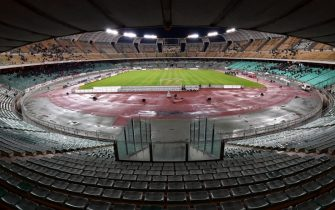 BARI, ITALY - NOVEMBER 24:  General view of Stadio San Nicola before a tournament between FC Internazionale, AC Milan and AS Bari at Stadio San Nicola on November 24, 2015 in Bari, Italy.  (Photo by Giuseppe Bellini/Getty Images)