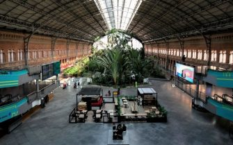 MADRID, SPAIN - MARCH 16: A general view of Atocha train station as the country works to stop the spread of the coronavirus on March 16, 2020 in Madrid, Spain. The cases in Madrid are at least 3,544 people infected of COVID-19 and at least 213 deaths. The Spanish government has declared a state of emergency and is poised to put the country under lockdown to combat the virus.  (Photo by Pablo Blazquez Dominguez/Getty Images)