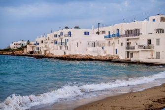 Nella foto uno scorcio di Naoussa sull'isola di Paros, in Grecia