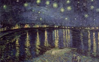 The Starry Night, 1888 (oil on canvas) (Photo by Art Images via Getty Images)