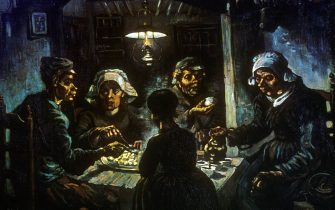 'The Potato Eaters', 1885. From the Van Gogh Museum, Amsterdam. (Photo by Art Media/Print Collector/Getty Images)